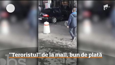 Familia tânărului de 21 de ani care a furat o maşină şi apoi a lovit 13 oameni într-o cursă nebună la mall-ul din Brăila, este bună de plată!