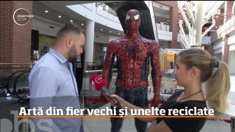 Sudura în argon, ridicată la nivel de artă de un tânăr român