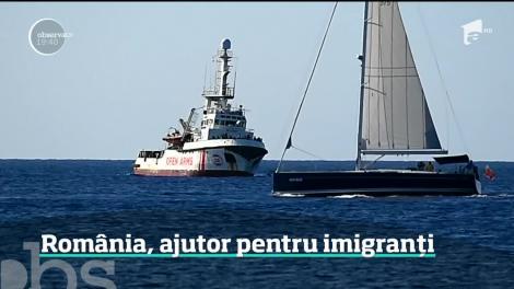 România sare în ajutorul imigranţilor refuzaţi de italieni