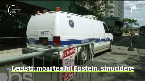 Miliardarul Jeffrey Epstein s-a sinucis conform autopsiei făcută de medicii legişti din New York