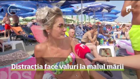 N-a fost loc pe nisip pentru marea de turişti de pe litoral