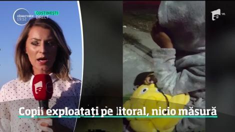 Imagini revoltătoare în Costinești! Minori care dorm pe străzi, obligați să cerșească, chiar sub ochii polițiștilor
