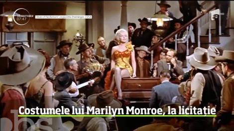 Costumele purtate de Marilyn Monroe în filmele în care a jucat vor fi scoase la licitație!