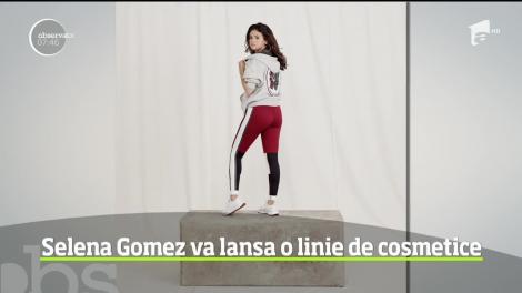 Selena Gomez îşi va lansa propria marcă de cosmetice