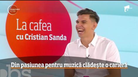 Cristian Sanda și-a început cariera muzicală la vărsta de doar 8 ani