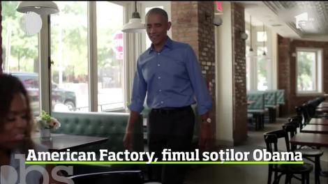 Soţii Obama şi-au făcut debutul în cinematografie! Ei au realizat un documentar despre viaţa unor muncitori dintr-o fabrică americană