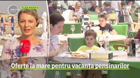 Oferte la mare pentru vacanța pensionarilor