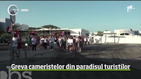 Turiştii de pe insula Ibiza trebuie să-şi facă singuri curăţenie în camere. Cameristele au intrat în grevă
