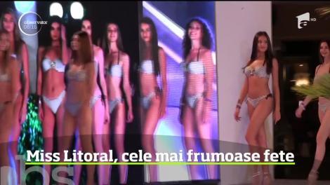 Miss Litoral 2019. Defilare în costume de baie la Constanţa