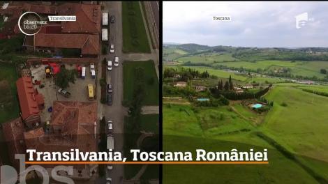 Frumuseţea Transilvaniei rivalizează cu Toscana