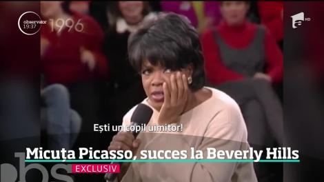 Cândva era Micuţa Picasso, acum e marea artistă care a cucerit America. O sculptură semnată de Alexandra Nechita va fi emblema oraşului Beverly Hills