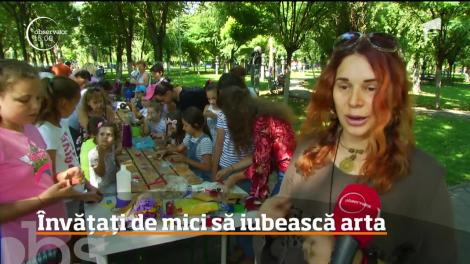 Artă meşteşugărească și tehnici inedite de pictură pe înțelesul copiilor