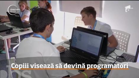 Tabără de IT pentru copii, la Cluj-Napoca