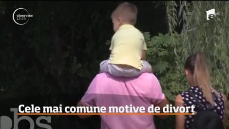 Unul din patru cupluri divorţează în România. Iată care sunt cele mai comune motive de divorț