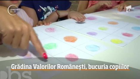 Grădina Valorilor Românești, bucuria copiilor