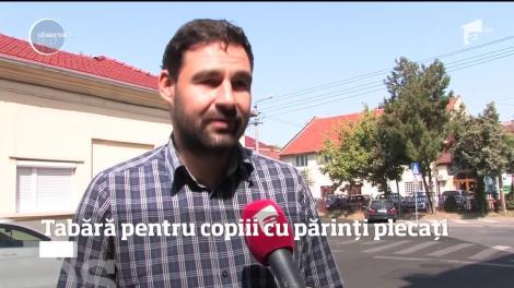 Tabără pentru copiii din Oradea, cu părinți plecați