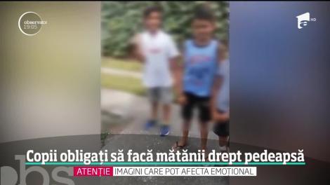 Mai mulţi copii au fost obligaţi să facă mătănii pe asfalt, într-o tabără creştină din Sălaj