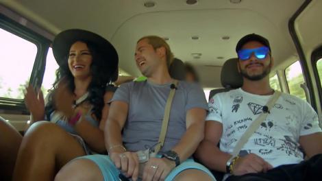 Insula Iubirii. Adrian merge la echitație cu Dana și Bogdan, dar calul nu îl ascultă: Opriți-l! Nu mai vreau, îmi ajunge!