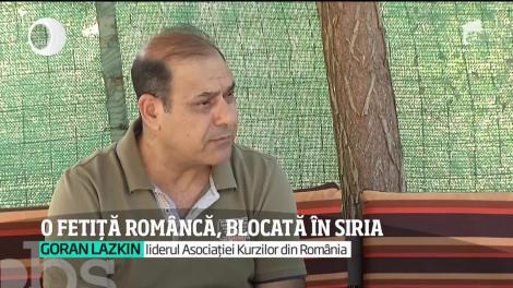 Fetiță româncă de 11 ani, blocată într-o tabără din Siria de refugiaţi afiliaţi ISIS