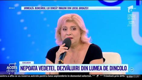 Acces Direct. Camelia Stoian, nepoata cântăreţei Gabi Luncă, l-a întâlnit pe Iisus!: Nu a fost vis pentru că nu am închis ochii