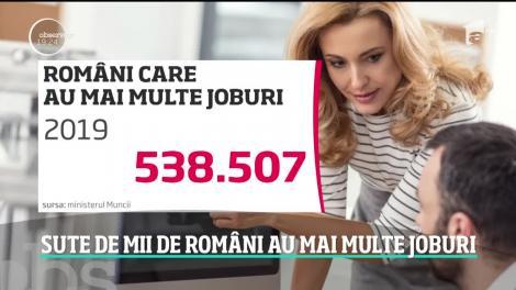 Jumătate de milion de români au două sau mai multe locuri de muncă. Mulţi ajung să lucreze chiar şi 16 ore pe zi