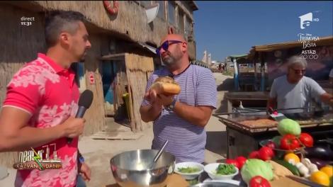 Chef Scărlătescu, despre secretul preparatului cu care face furori în Vama Veche