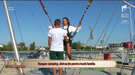 Cum să te distrezi la mare, în Costinești! Bungee-jumping, activitatea pe care trebuie s-o faci dacă ești amator de adrenalină!