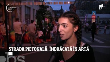 Arteră intens circulată din Craiova, zonă de promenadă pentru pietoni