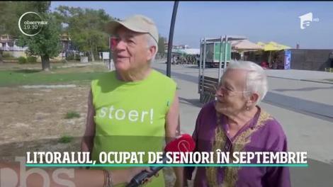 Toamna începe distracţia la mare pentru pensionari. Hotelurile au oferte speciale pentru seniori în această perioadă