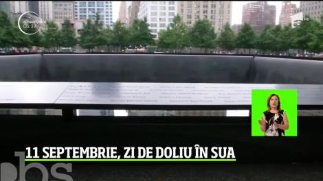 Statele Unite ale Americii marchează 18 ani de la atacurile din 11 septembrie 2001, în urma cărora au murit 3000 de oameni! Video