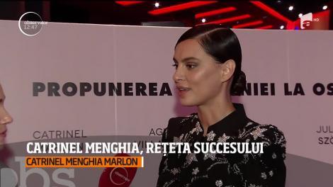 Catrinel Menghia, o apariţie răvăşitoare pe covorul roşu. Care este rețeta succesului ei