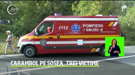 """Grav accident rutier în judeţul Neamţ. Trei oameni au ajuns la spital! Cauza este incredibilă! """"Lipsă de educaţie şi lipsă de respect"""" - Video"""