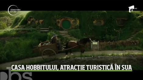 Două femei din SUA au construit o replică a casei din filmul Hobbitul