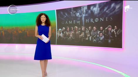 """Povestea celor opt sezoane """"Game of Thrones"""" a fost expusă pe o pânză de 87 de metri la un muzeu din Franţa"""