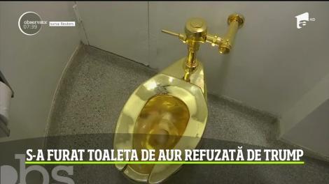 Toaleta de aur în valoare de un milion de lire sterline a fost furată
