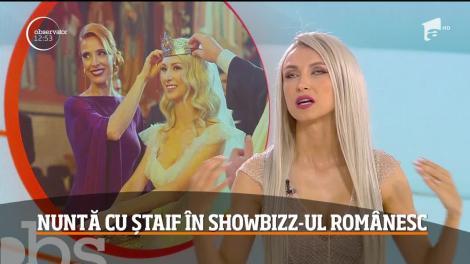 Andreea Bălan, petrecere de nuntă ca-n filme. Artista s-a măritat și a lansat și o melodie nouă