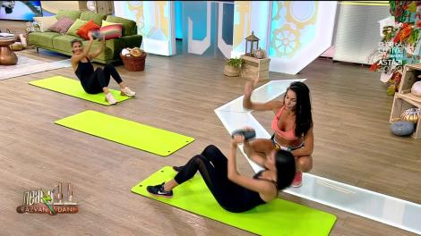 Scapă de burtă! Cele mai bune exerciții pentru abdomen, la Neatza cu Răzvan şi Dani