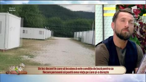 Roberto Patrascoiu, erou local în cadrul campaniei EU Protects, direct din platoul de la Neatza:  Ridicăm o casă în cinci zile