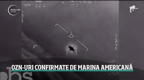 """Este oficial! OZN-urile filmate de piloţii militari americani sunt reale: """"Dumnezeule, Este o întreagă flotă!"""" - Video"""