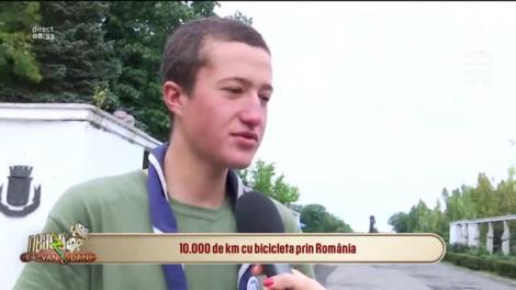 Un tânăr de 17 ani a parcurs 10.000 km cu bicicletă în patru luni: M-am întâlnit cu ursul pe drum