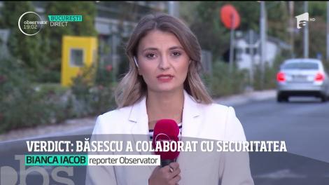 Traian Băsescu a fost colaborator al fostei Securităţi şi a dat note informative sub numele Petrov. Fostul preşedinte a anunţat că va contesta verdictul dat de judecători