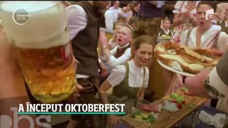 A început Oktoberfest, la Munchen