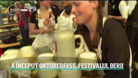 Oktoberfest, festivalul berii, organizat în Munchen