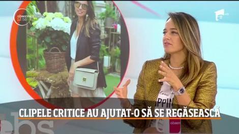 Andreea Raicu, în echilibru cu propria persoană. Clipele critice au ajutat-o să se regăsească