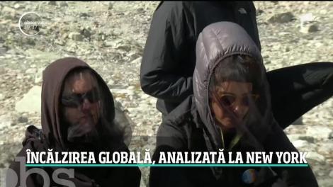 Reuniune extraordinară a ONU pe tema încălzirii globale. Viitorul întregii lumi se decide la New York