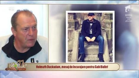 """Ce îi transmite Helmuth Duckadam fostului său coleg, Gabi Balint: """"Îl anunț, cu regret..."""""""