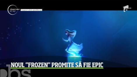 """Surpriză pentru împătimiţii animaţiilor! Disney a lansat al doilea trailer """"Frozen 2"""""""