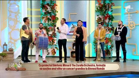 Neatza cu Răzvan și Dani. Relu și The Zuralia Orchestra vor susține un concert grandios la Ateneul Român