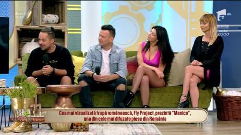 Neatza cu Răzvan și Dani. Fly Project, despre succesul melodiei Mexico: Au crescut concertele noastre în străinătate