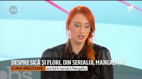 """Dezvăluiri de senzație! Actrița Ilona Brezoianu, despre Flori, personajul ei din """"Mangalița"""": """"Sunt mâna dreaptă a primarului, dar...nu fac nimic!"""""""